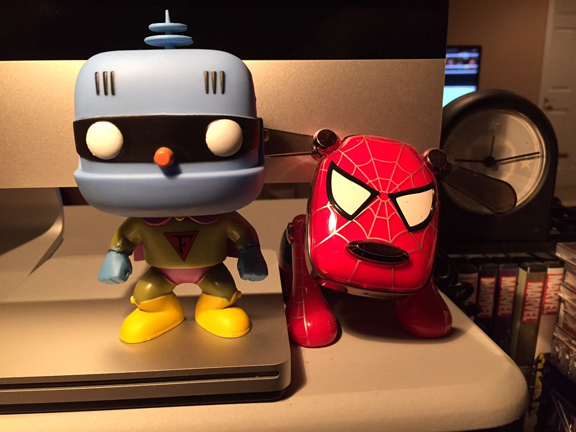 The guardians of KC's computer.
