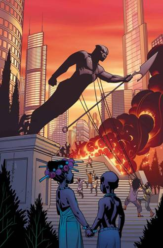 Ta-Nehisi Coates and Brian Stelfreeze's Black Panther #2