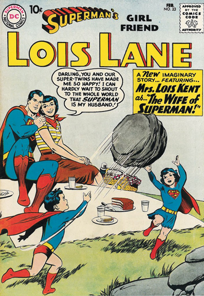 In My Daydreams, Superman….Well, Even In My DayDreams, Superman Was Never This Weird.
