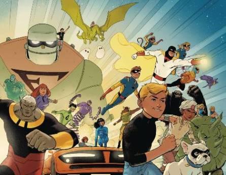 DC's First Hanna-Barbera Reboot, Future Quest #1