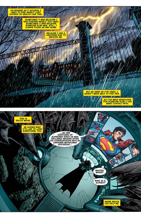 DC Universe Rebirth preview page