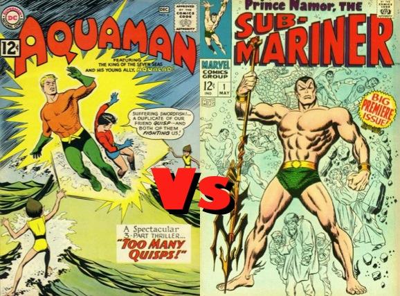 Aquaman vs. Sub-Mariner?