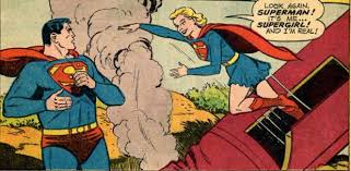 A classic panel from the origin story.