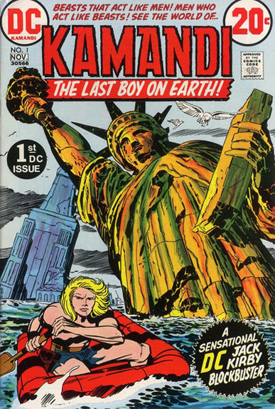 At least the flooding wasn't this bad. Kamandi, The Last Boy on Earth #1