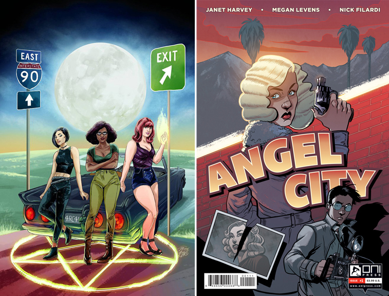 Spell on Wheels #1 (Ming Doyle cover) & Angel City