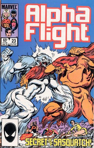 Alpha Flight #23