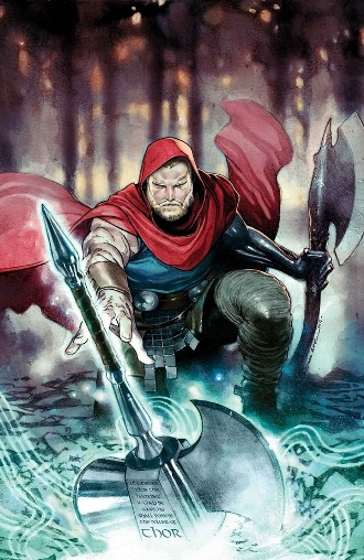 Unworthy Thor #1 (of 5) by Jason Aaron and Olivier Coipel