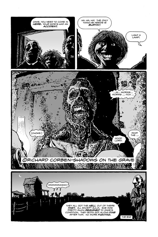 Shadows on the Grave preview page 4