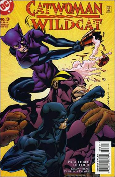 Catwoman/Wildcat DC Comics Written By Beau Smith & Chuck Dixon