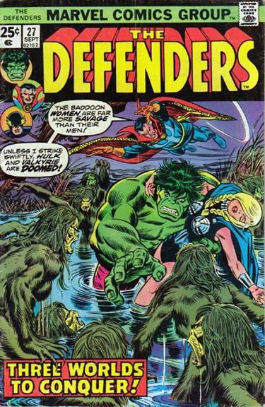 Doctor Strange fights alongside the Defenders.
