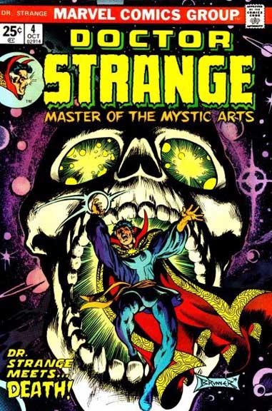 Doctor Strange #4, part of the classic Steve Englehart & Frank Brunner run.