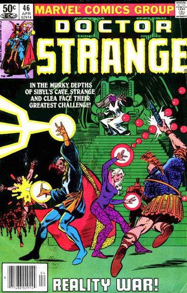 At one time, Frank Miller was announced as the new artist on Doctor Strange, though it never came to pass. We did get a tantalizing glimpse at what could have been on the cover of Doctor Strange #46 and in Amazing Spider-Man Annual #14.