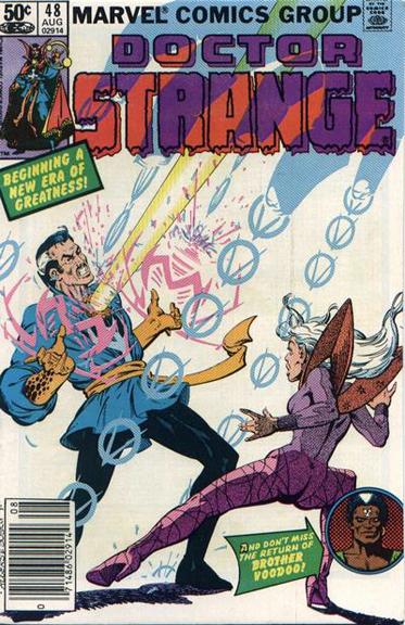 Doctor Strange #48 beings a stunning run by Roger Stern, Marshall Rogers, and Terry Austin.