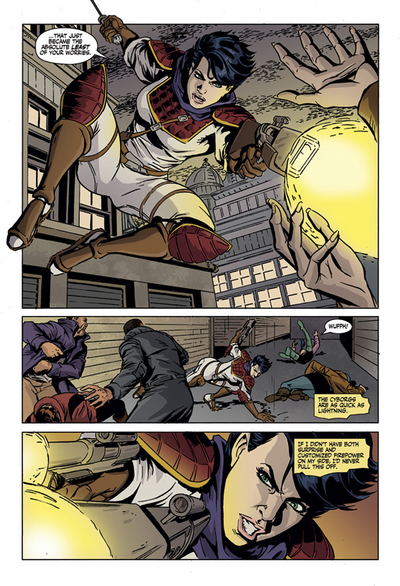 Trekker: Rites of Passage preview page 2