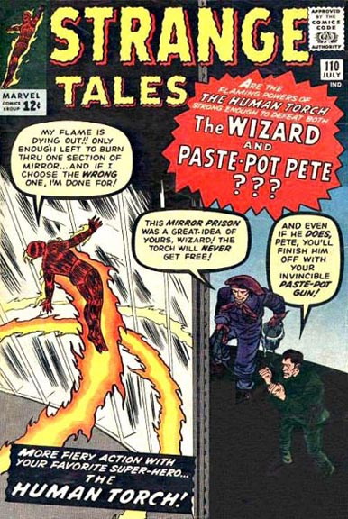 Doctor Strange first appeared in Strange Tales #110 though you wouldn't know it from the cover.
