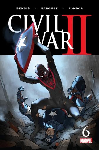 Steve Rogers VS Miles Morales? Civil War II #6 (of 8)