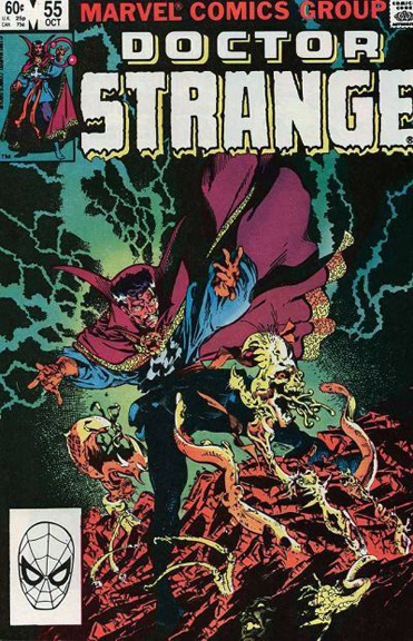 Though mainly known for his Doctor Strange covers and a popular portfolio, artist Michael Golden teamed with writer Roger Stern for the fan-favorite Doctor Strange #55.