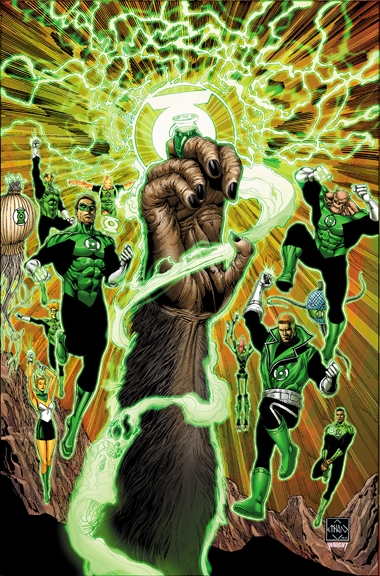 Planet of the Apes/Green Lantern #1