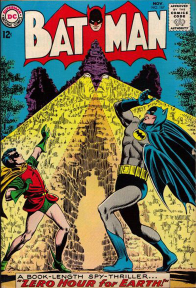 Batman #167. Can you spot the KC connection on this cover?