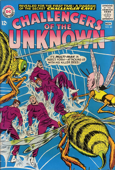 Challengers of the Unknown #40