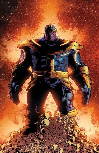 Jeff Lemire and Mike Deodato's Thanos #1