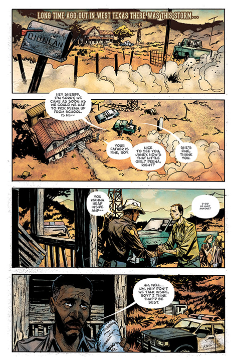 God Country #1 preview page 2