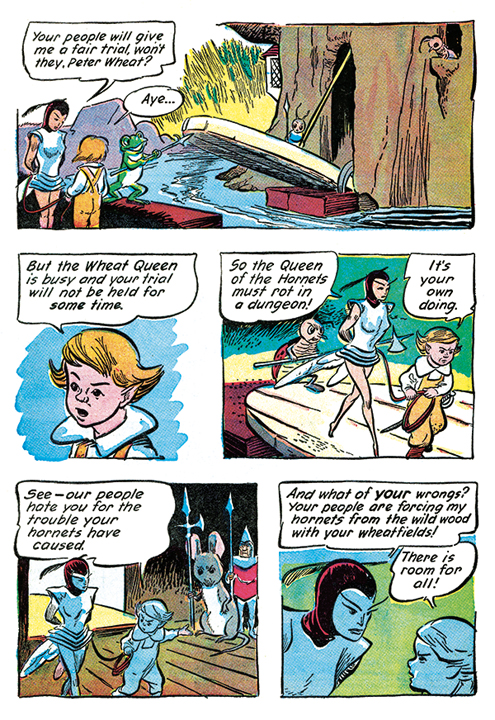 Walt Kelly's The Adventures of Peter Wheat The Complete Series: Volume One preview page 3.