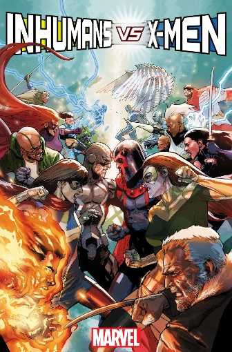 IVX: Inhumans VS X-Men #1 (of 6)