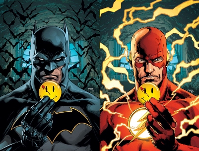 """The Button"" Begins in April's Batman and The Flash"
