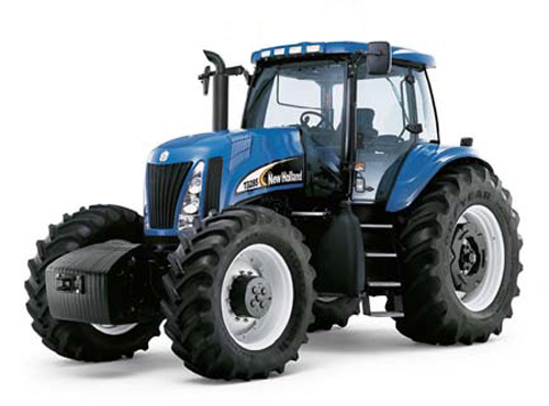 New Holland Tractor Recommended by Gary Kwapisz