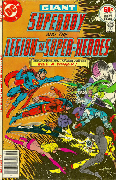 Superboy and the Legion of Super-Heroes #231