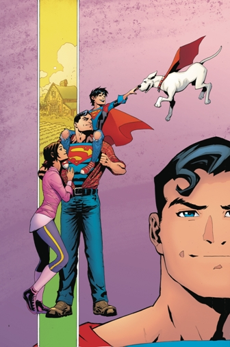 The Superman Reborn Crossover Begins in Superman #18