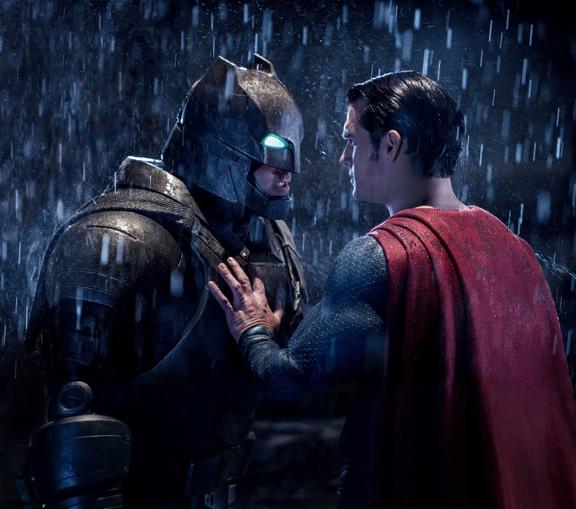 Batman Vs Superman. Pick A Super Powered Side.
