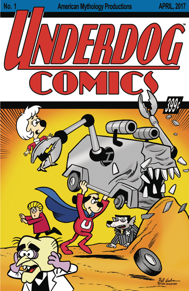 Underdog #1 Bill Galvan cover