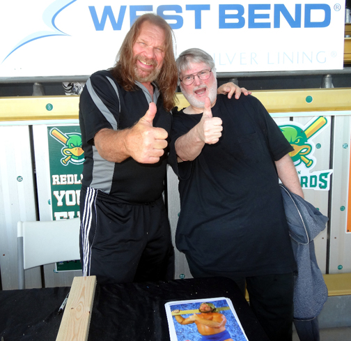 KC and wrestling legend Hacksaw Jim Duggan