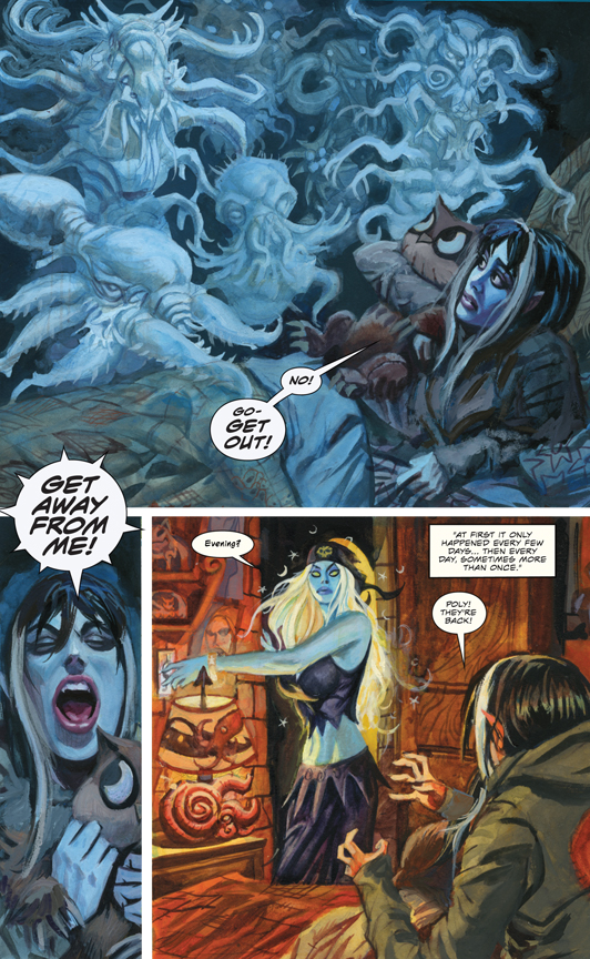 Nocturnals: The Sinister Path preview page 1
