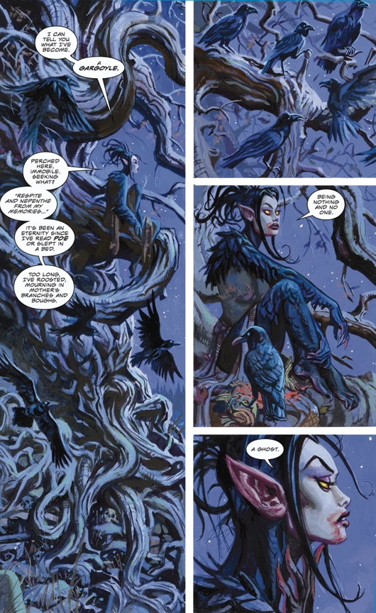 Nocturnals: The Sinister Path preview page 2