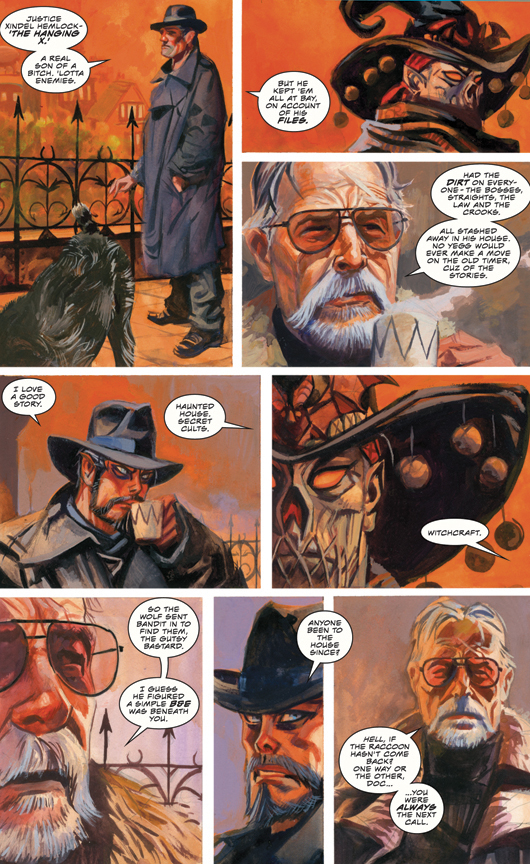 Nocturnals: The Sinister Path preview page 3