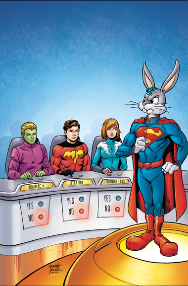 Legion Of Super-Heroes/Bugs Bunny Special #1