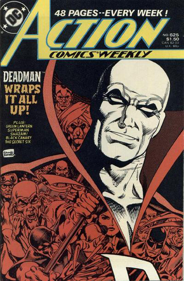 Action Comics Weekly #625 cover by Eduardo Barreto