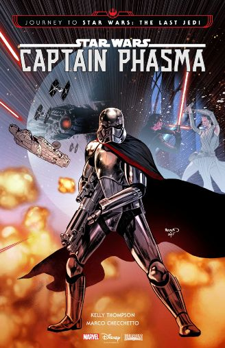 Captain Phasma 4-Issue Mini-Series Coming in September