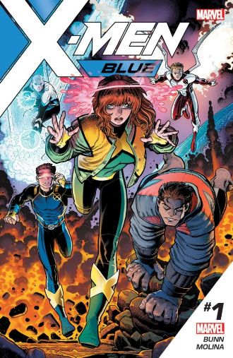 Marvel Comics' X-Men: Blue #1