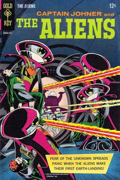 Captain Johner and The Aliens #1