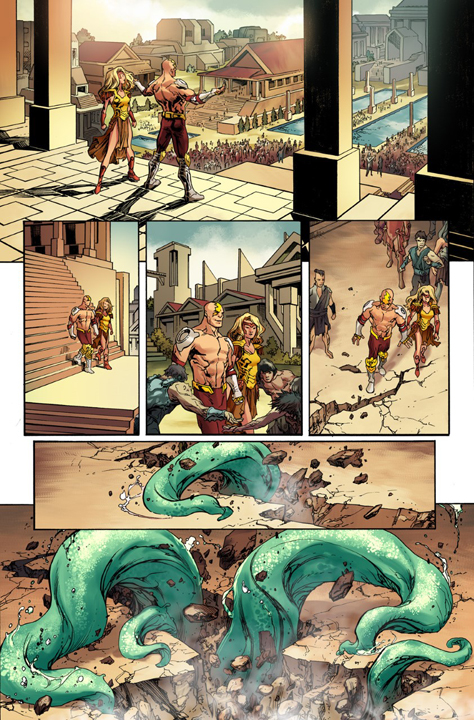 Dread Gods #1 preview page 3