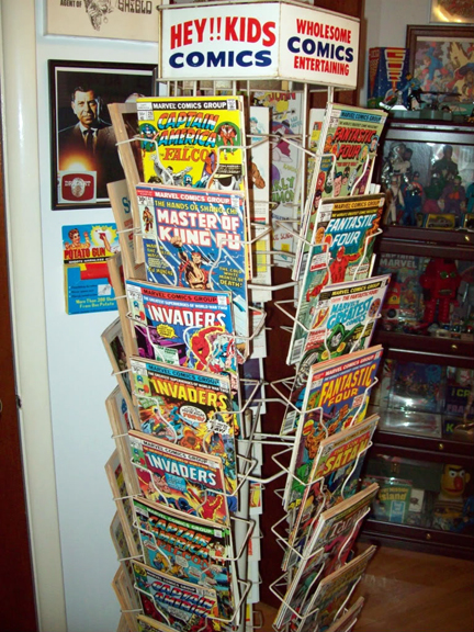 Hey Kids! It's a spinner rack!