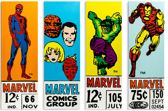 Marvel Comics Corner Box Art