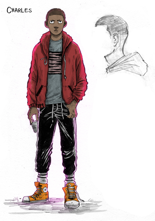 Charles character design by artist Jey Levang