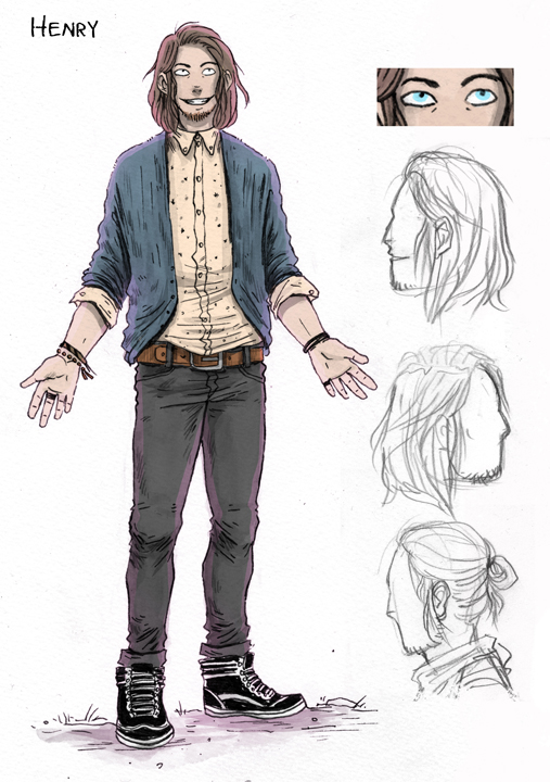 Henry character design by artist Jey Levang