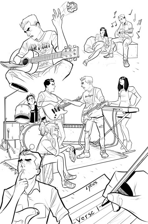 The Archies #1 preview page 3