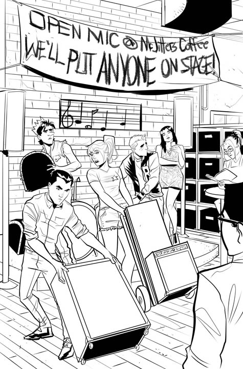 The Archies #1 preview page 4